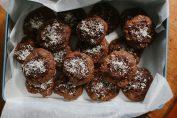 Мягкие шоколадные булочки